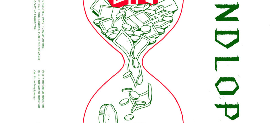 Lijpe - Zandloper (album artwork cover)